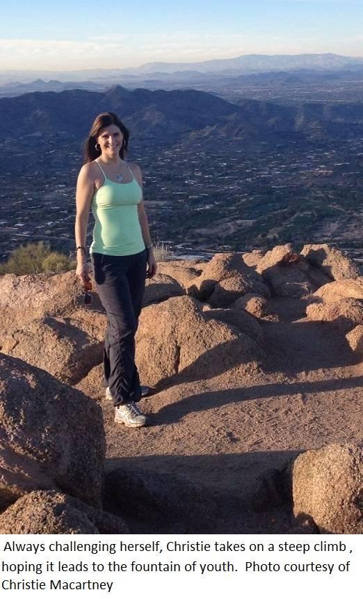 christie outdoor rock climbing
