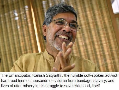 Indian activist Kailash Satyarthi