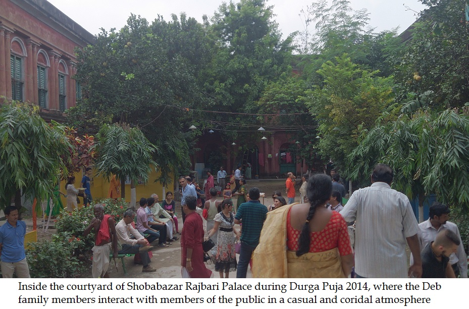 rajbari couryard