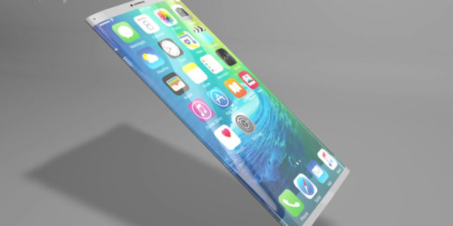 futuristic all glass design for iphone 8 the global. Black Bedroom Furniture Sets. Home Design Ideas